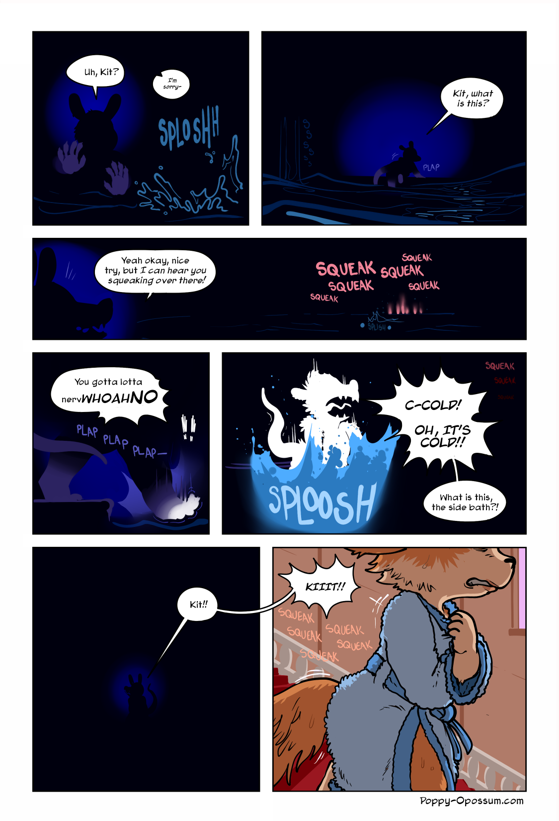 I honest to god considered just having this entire page be completely pitch black besides sound effects for a little while there, but uh, I quickly decided no one would think that was funny except for me.